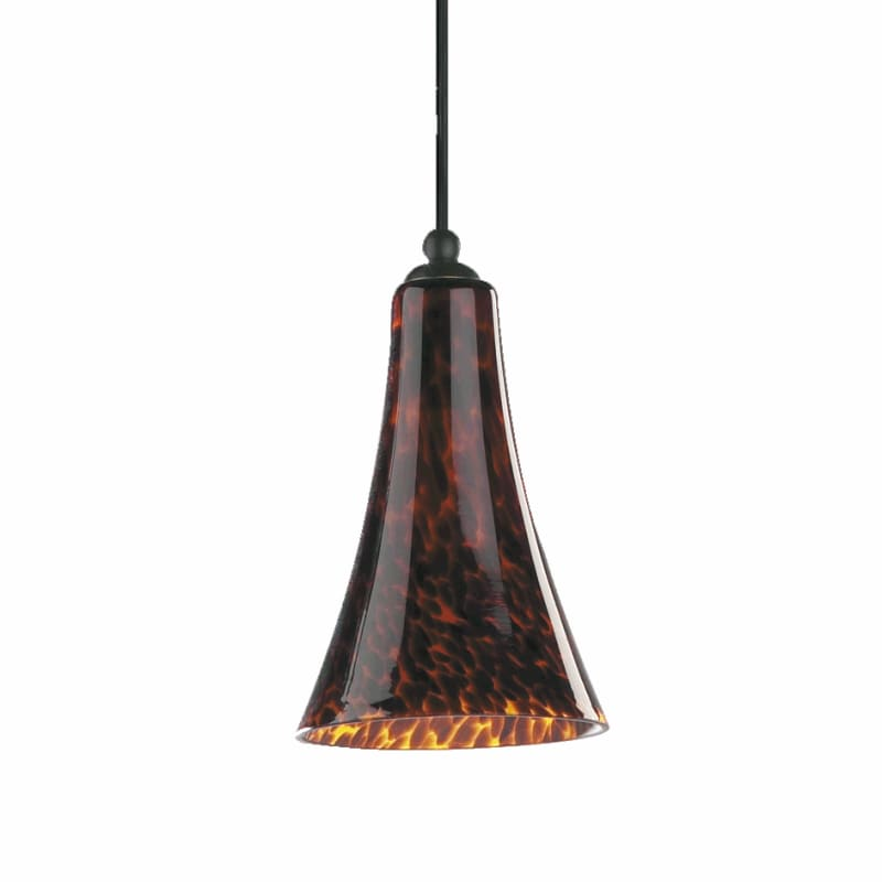Quorum International Q891 1 Light Mini Pendant with Glass Bell Shade