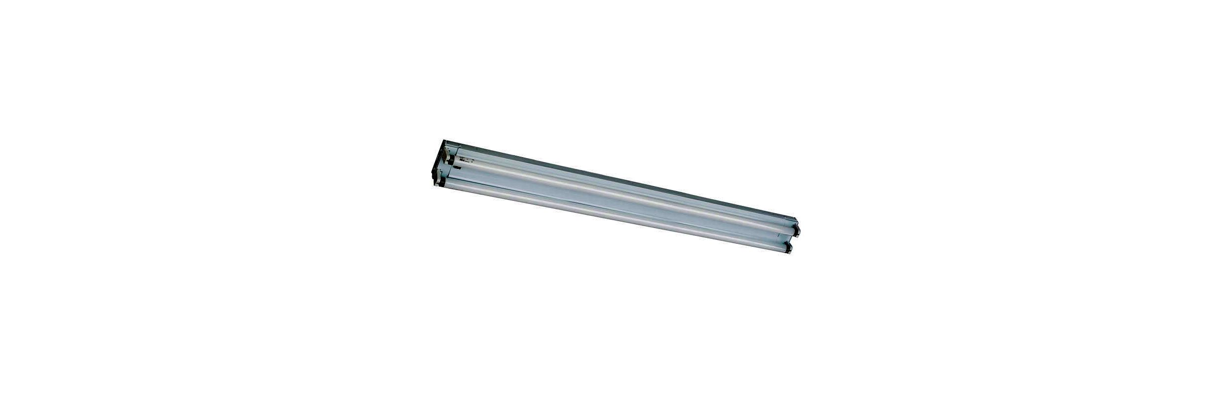 Quorum International Q89324-2 2 Light Flushmount Fluorescent Fixture