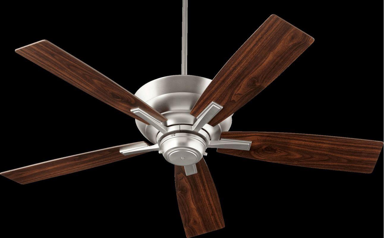 """Quorum International 94525 Mercer 52"""" 5 Blade Indoor Ceiling Fan Satin"""