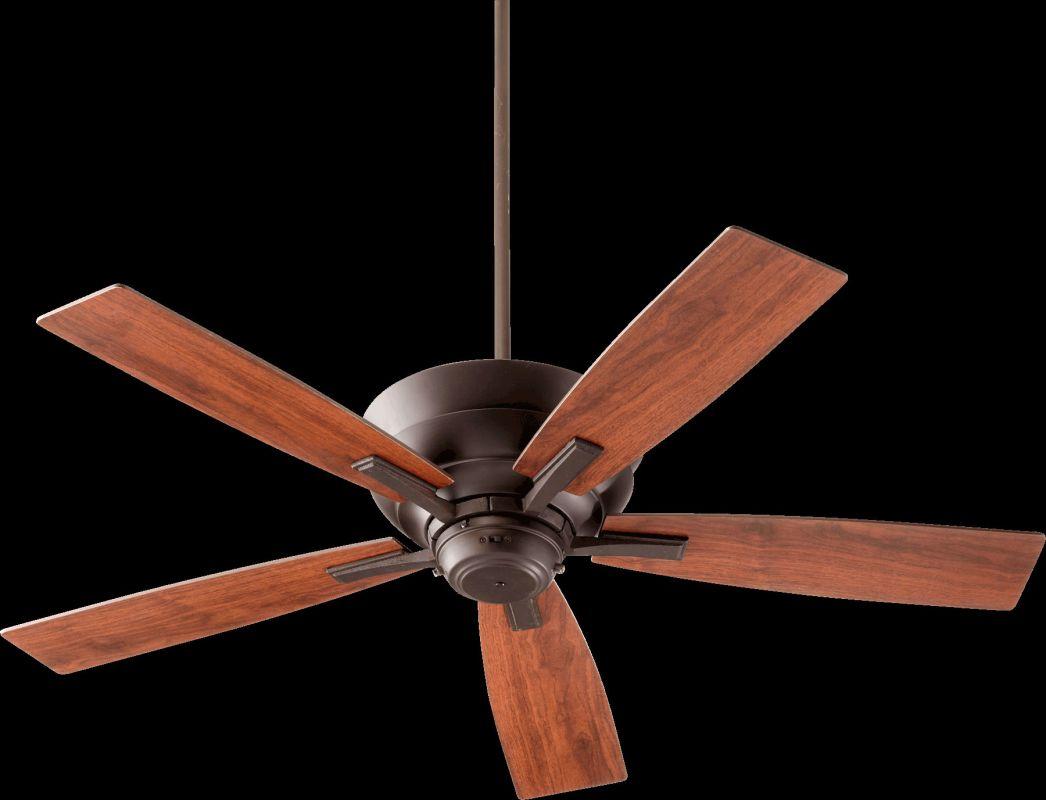 """Quorum International 94525 Mercer 52"""" 5 Blade Indoor Ceiling Fan Oiled"""