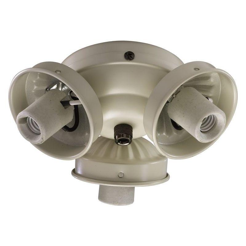 Quorum International 2303-90 3 Light Down Lighting Fan Light Kit