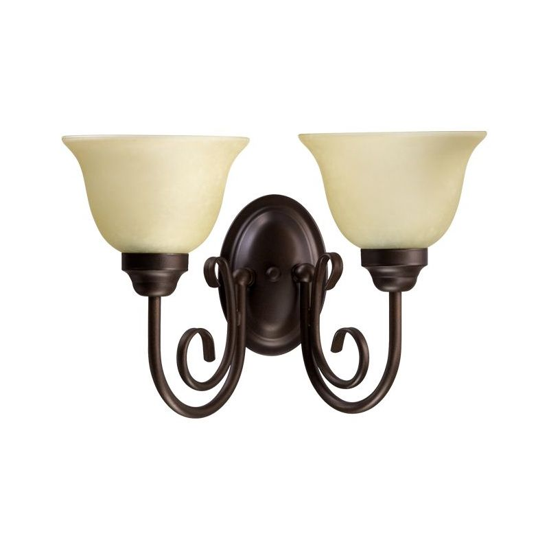 Quorum International 5402-2-1 2 Light Bathroom Vanity Light with Sale $50.00 ITEM: bci1703676 ID#:5402-2-186 :