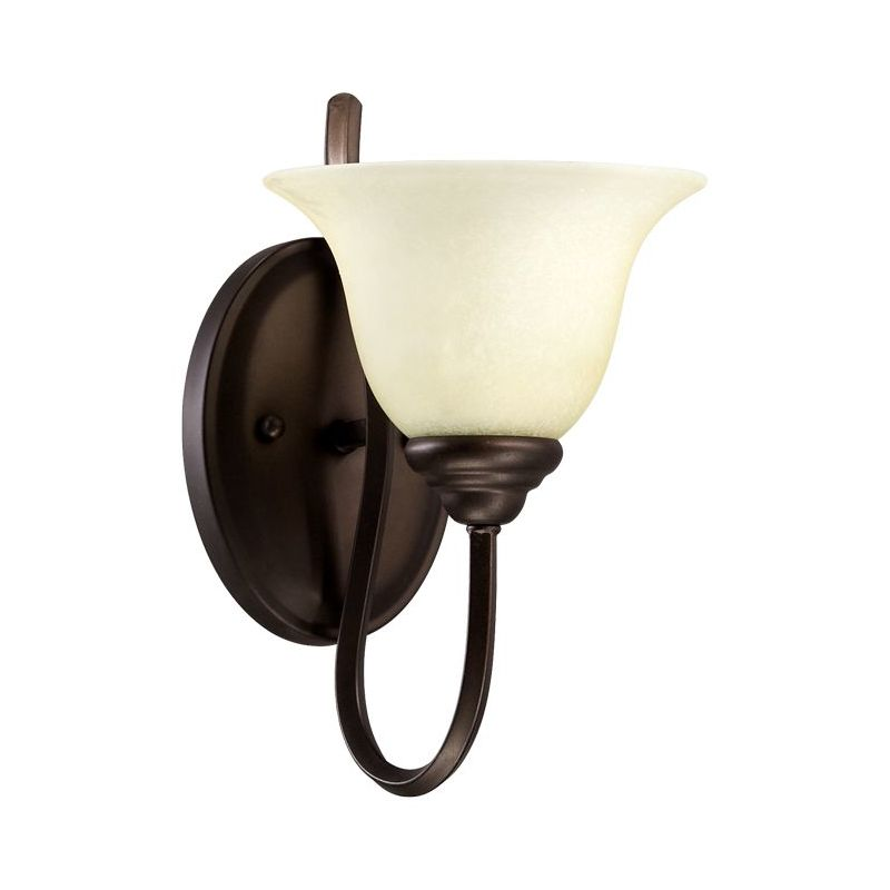 Quorum International 5510-1 Spencer Single Light Wall Sconce with