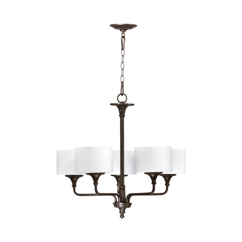 Quorum International 6090-5 Rockwood 5 Light 1 Tier Chandelier Oiled Sale $324.00 ITEM: bci1703657 ID#:6090-5-86 :
