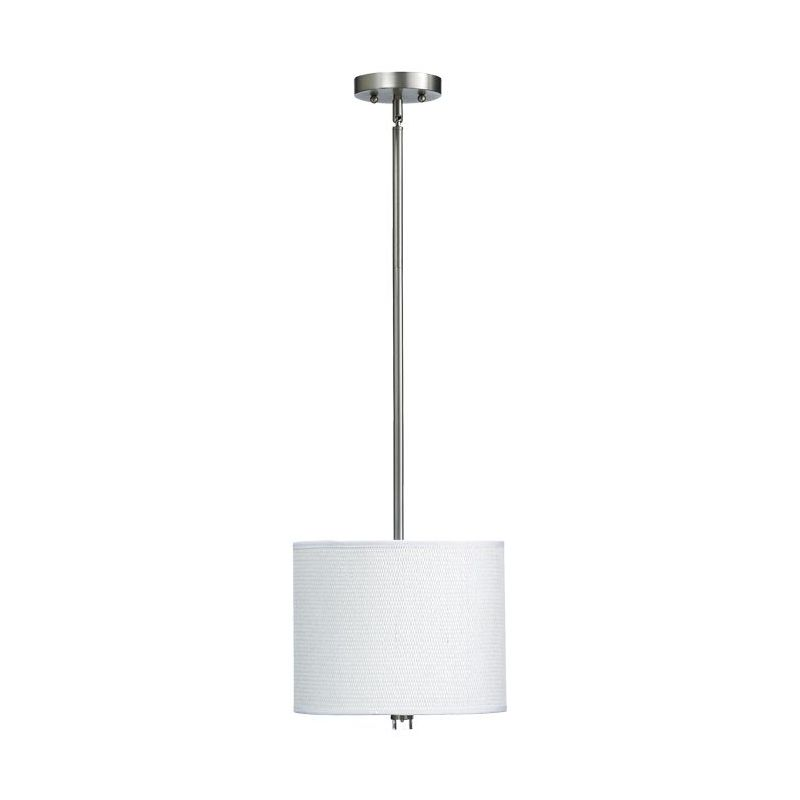 Quorum International 859-12 Copeland 1 Light Full Sized Pendant Satin Sale $187.00 ITEM: bci1703734 ID#:859-12-65 :