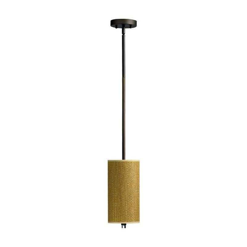 Quorum International 859-6 Copeland 1 Light Mini Pendant Oiled Bronze