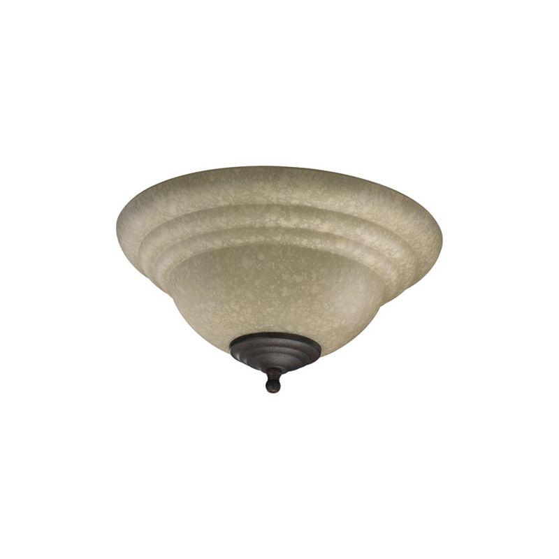 Quorum International 1120-801E 2 Bulb Fan Light Kit Toasted Sienna /