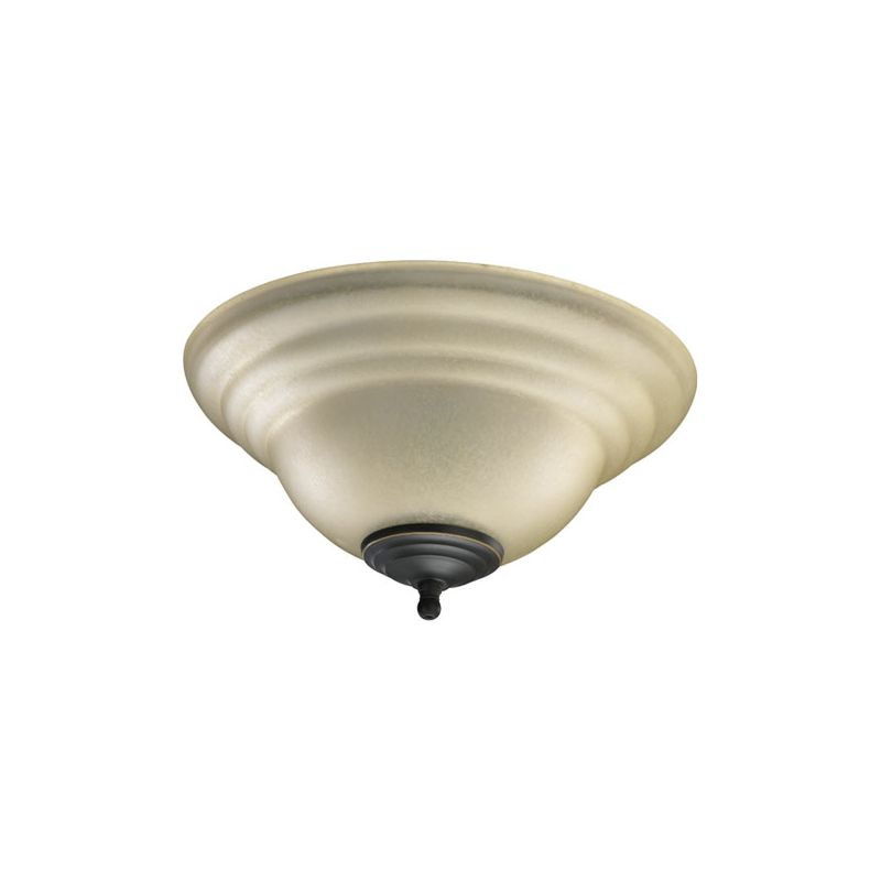 Quorum International 1120-801U 2 Bulb Fan Light Kit Toasted Sienna /