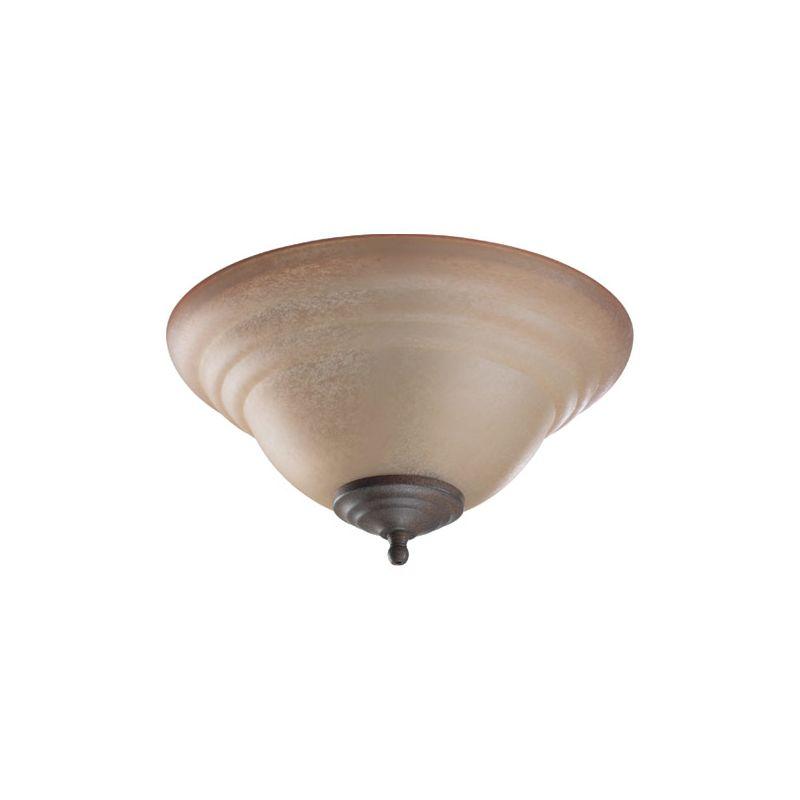 Quorum International 1120-811A1 2 Bulb Fan Light Kit Toasted Sienna /