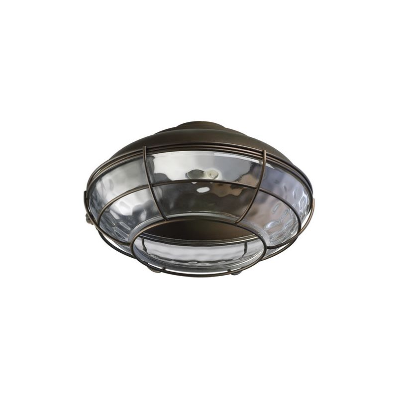 Quorum International 1375-CFL Hudson 1 Bulb Outdoor Fluorescent Fan