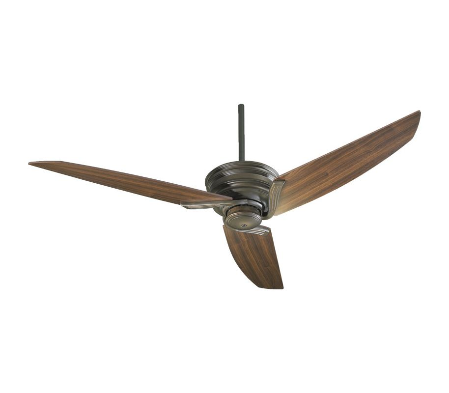 Quorum International 24563 56 Inch 3 Blade Indoor Ceiling Fan Oiled