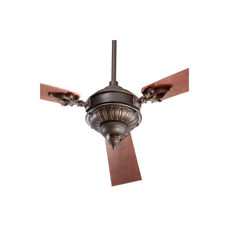 "Quorum International 27603 Brewster Three Blade 60"" Ceiling Fan Oiled"