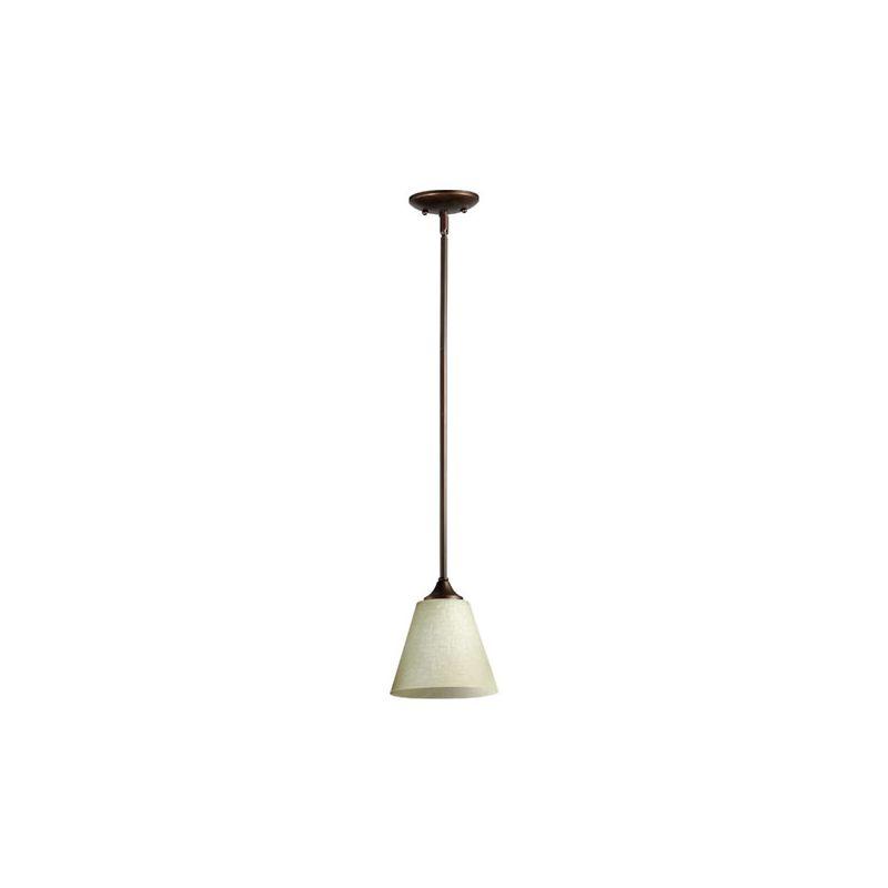 Quorum International 3029-1 Winslet II 1 Light Mini Pendant Oiled
