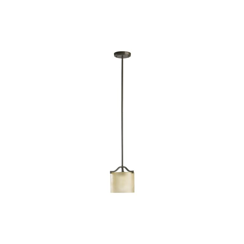 Quorum International 3096 Atwood 1 Light Mini Pendant Oiled Bronze