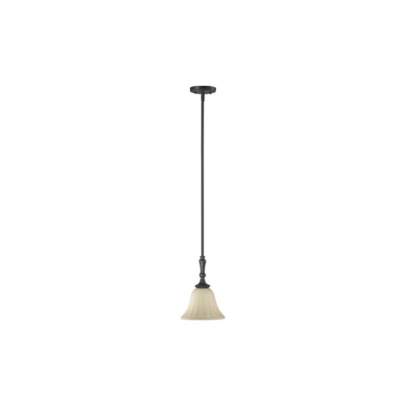 Quorum International 3194 Randolph 1 Light Mini Pendant Oiled Bronze