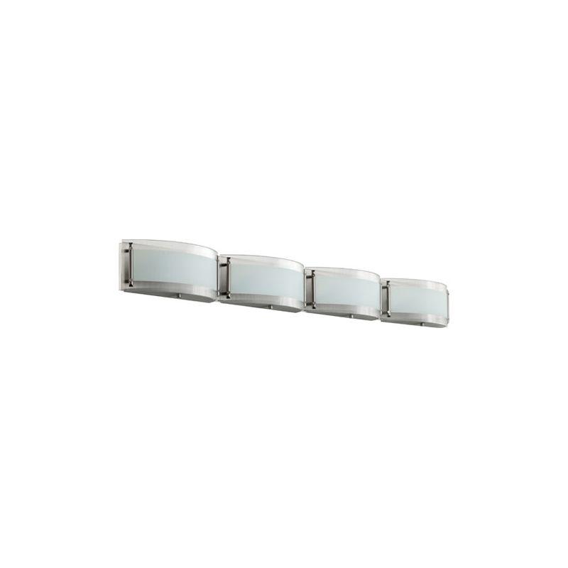 Quorum International 5085-4 Four Light ADA Compliant Halogen Bathroom