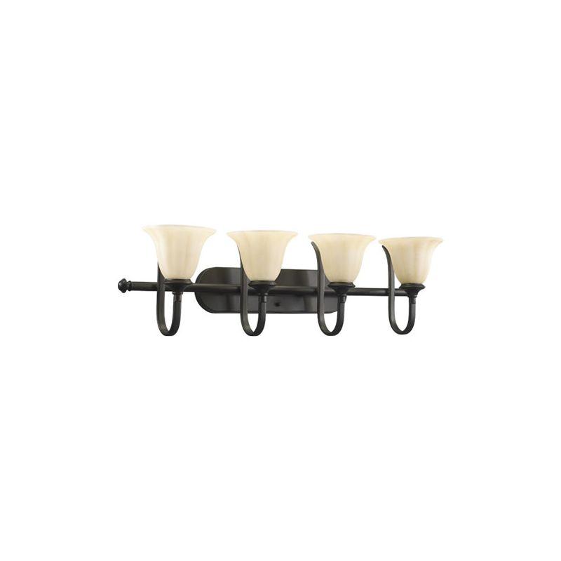 Quorum International 5194-4 Randolph 4 light Bathroom Fixture Oiled