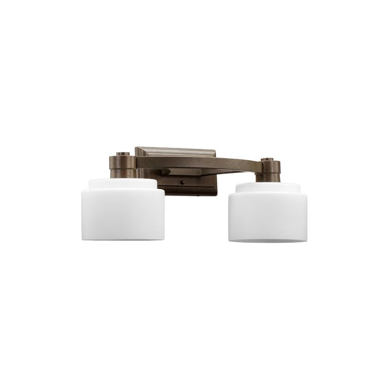 Quorum International 5387-2 Stillman 2 light Bathroom Fixture Oiled Sale $99.00 ITEM: bci2007963 ID#:5387-2-86 :