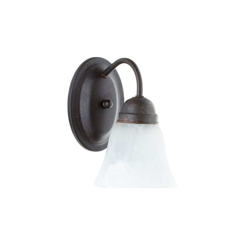 Quorum International 5403-1 1 Light Bathroom Sconce with Frosted Glass Sale $19.90 ITEM: bci2007967 ID#:5403-1-44 :