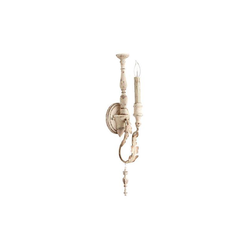 Quorum International 5406-1 Salento 1 Light Wall Sconce Persian White