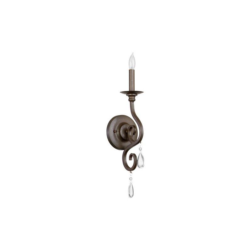 Quorum International 5413-1 Anders 1 Light Bathroom Sconce Oiled