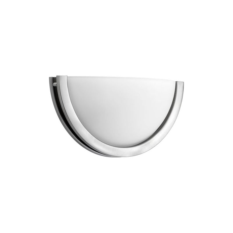 Quorum International 5727-8 1 Light Bathroom Sconce with Frosted Glass