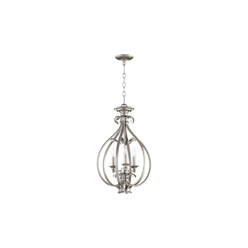 "Quorum International 6794-3 Randolph 3 Light 15"" Convertible Foyer"