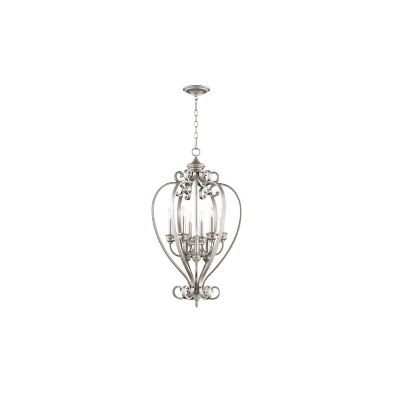 "Quorum International 6854-9 Randolph 9 Light 20"" Foyer Pendant Classic"