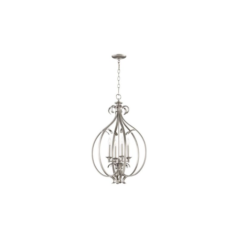 "Quorum International 6894-4 Randolph 4 Light 19.25"" Foyer Pendant"