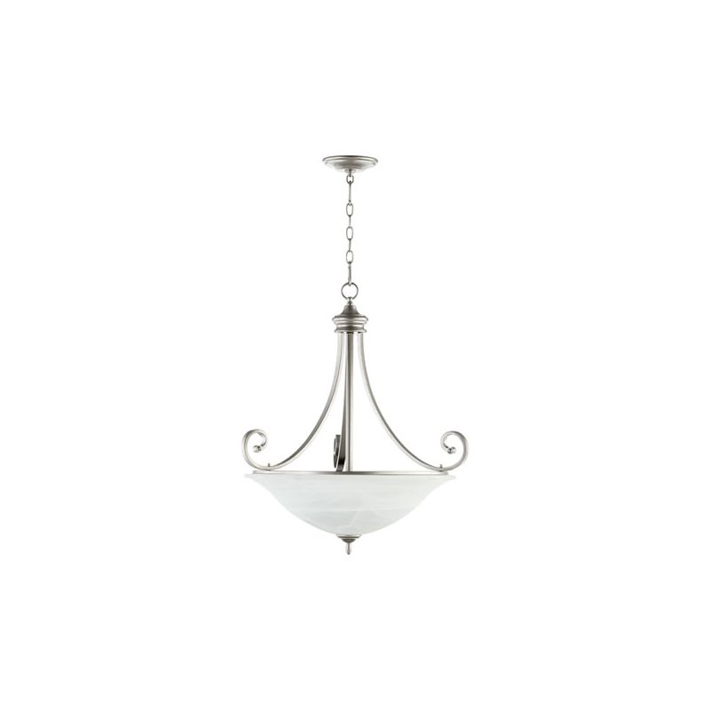 "Quorum International 8154-4 Bryant 28"" Wide 4 Light Pendant with Glass"