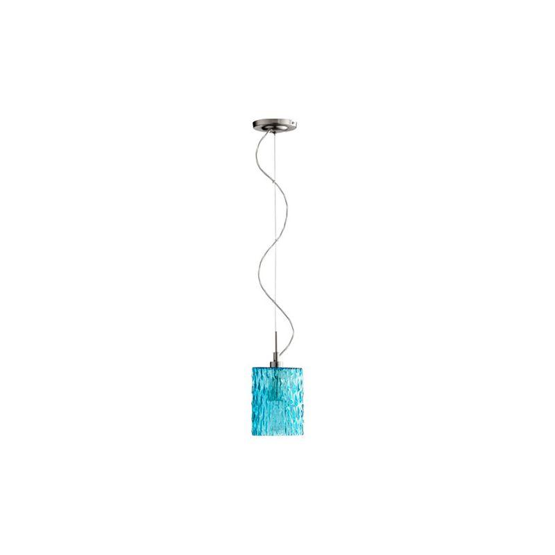 Quorum International 824 1 Light Mini Pendant with Glass Round Shade