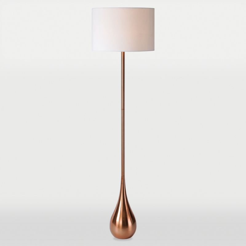 Ren wil lpf571 copper pandora 65quot tall 1 light accent for Pandora copper floor lamp