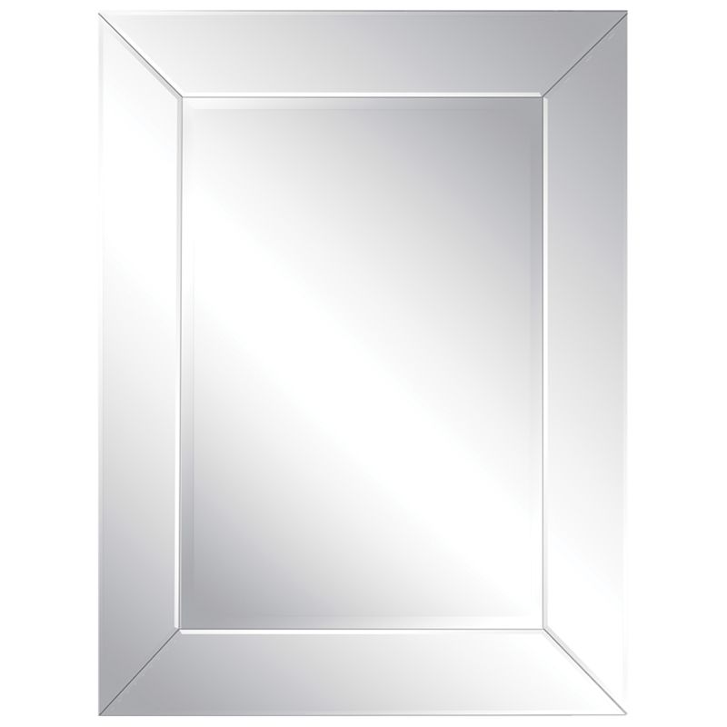 "Ren Wil MT1080 40"" High by 30"" Wide Tribeca Mirror Clear Glass Home"