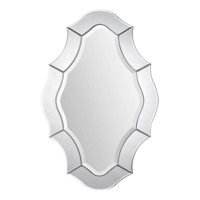 """Ren Wil MT1300 36"""" High by 24"""" Wide Leonardo Mirror Mirror Glass Home"""