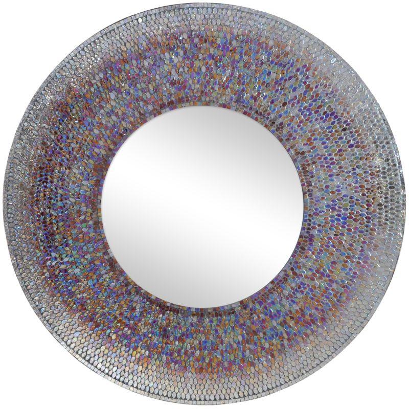 "Ren Wil MT1452 40"" High by 40"" Wide Seychelle Mirror Mosaic Home Decor"