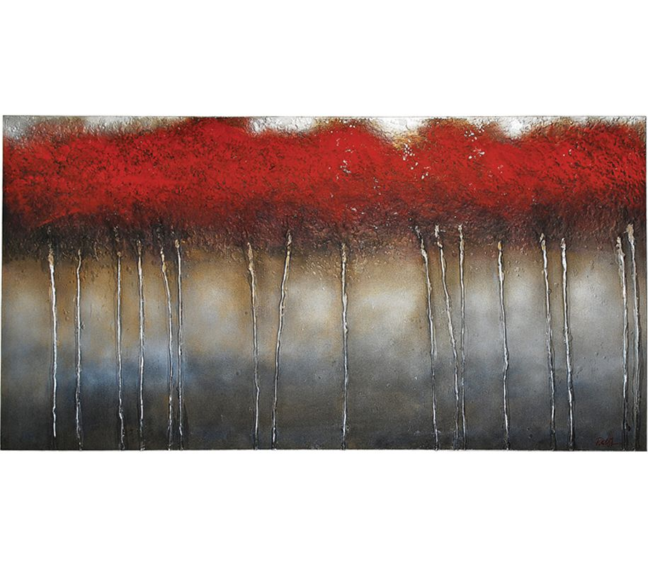 """Ren Wil OL137 Crimson Forest 60"""" Wide by 30"""" High Canvas Wall D�©cor"""