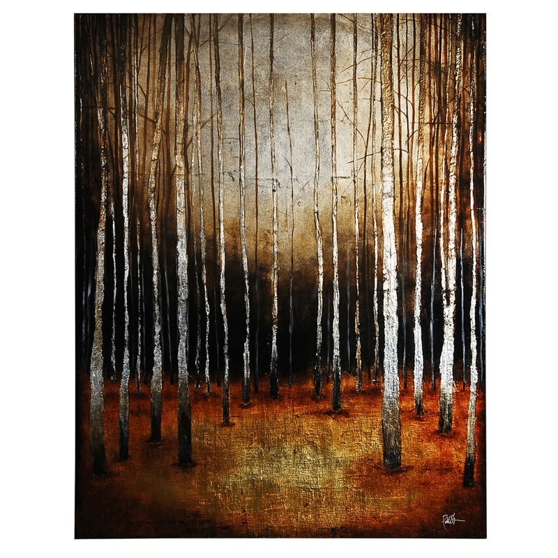"""Ren Wil OL155 In the Shadows 50"""" Wide by 40"""" High Canvas Wall D�©cor"""