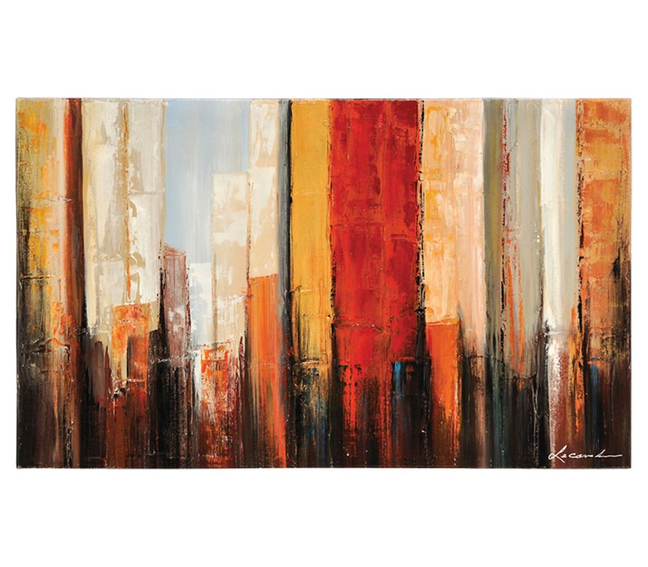 "Ren Wil OL464 New York Morning 50"" Wide by 30"" High Canvas Wall D�©cor"