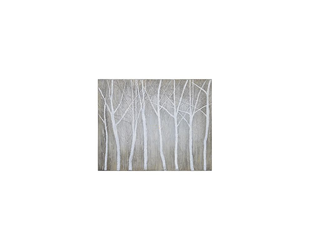 """Ren Wil OL610 50"""" Decorative Wall Painting with Scenic Forest Art"""