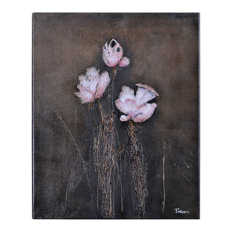 Ren Wil OL754 Organic Floral I Botanical Abstraction 30&quote x 24&quote Wall