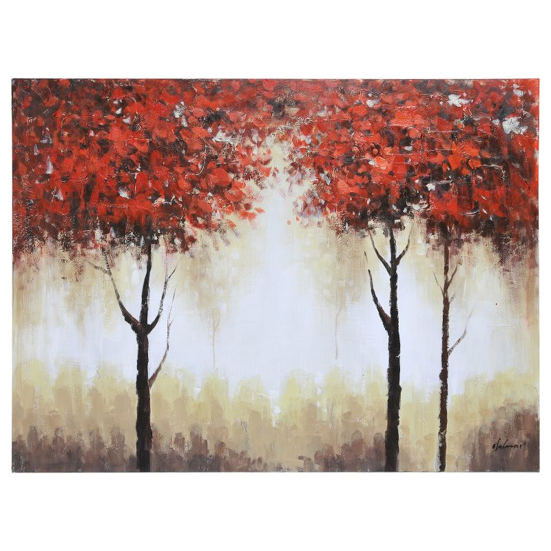 Ren Wil OL898 Autumn Mist 36&quote Wide by 48&quote High Canvas Wall D�©cor NA