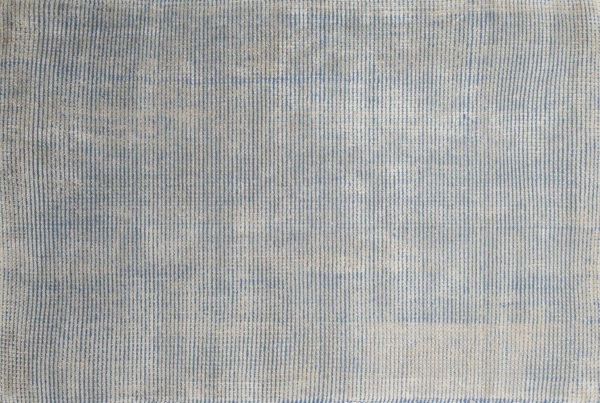 Ren Wil RCAS-02 Casper Hand Woven Viscose Rug Blue 5 x 8 Home Decor