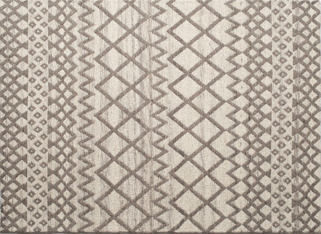 Ren Wil RLIF-01 Lifestyles Flat Weave Wool Rug Brown 8 x 10 Home Decor