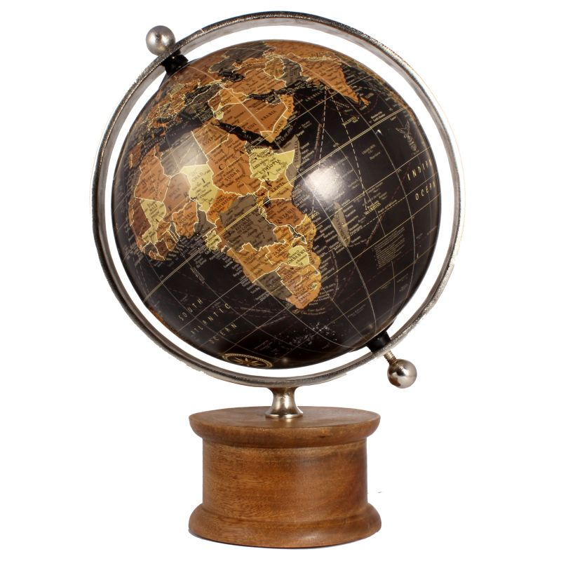Ren Wil STA330 Christopher Globe by Jonathan Wilner Natural / Nickel