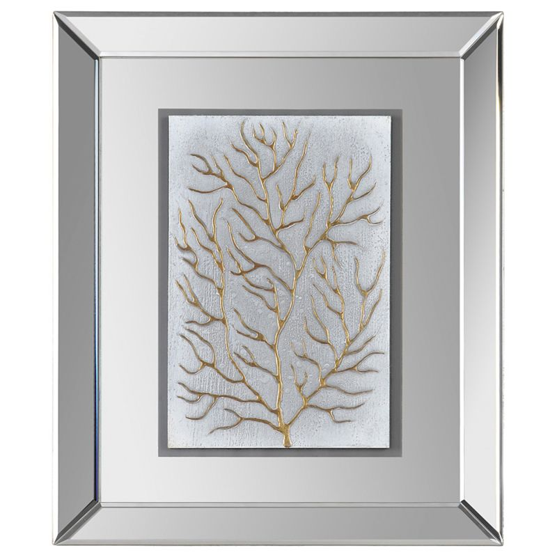 """Ren Wil W6005 Branching out II Botanical Abstraction 24"""" x 20"""" Wall"""