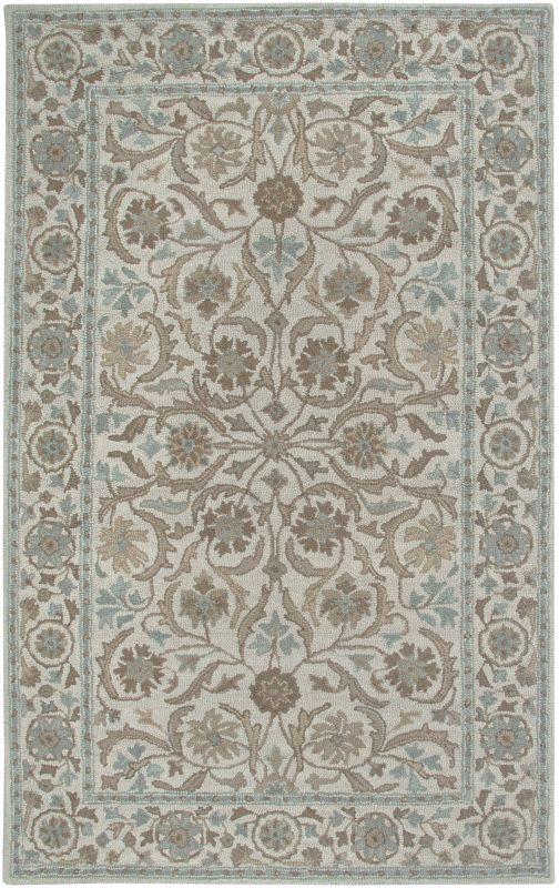 Rizzy Home AL2573 Ashlyn Hand-Tufted New Zealand Wool Rug beige 5 x 8