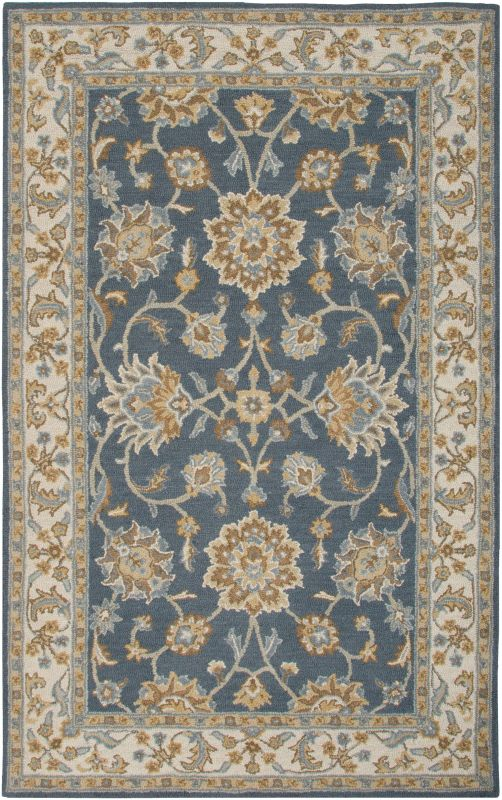 Rizzy Home AL2823 Ashlyn Hand-Tufted New Zealand Wool Rug Navy / Ivory Sale $349.00 ITEM: bci2617372 ID#:ASHAL282357370508 UPC: 844353810844 :