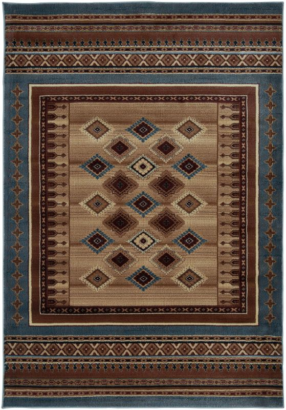 Rizzy Home BV3712 Bellevue Power Loomed Polypropylene Rug Blue 2 1/4 x Sale $99.00 ITEM: bci2615567 ID#:BLVBV371200092377 UPC: 844353829730 :