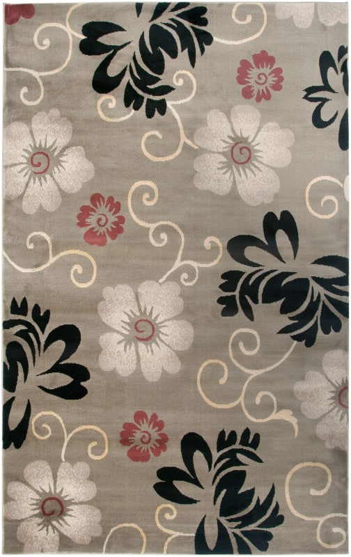 Rizzy Home BS3574 Bayside Power Loomed Polypropylene Rug Beige 5 1/4 x