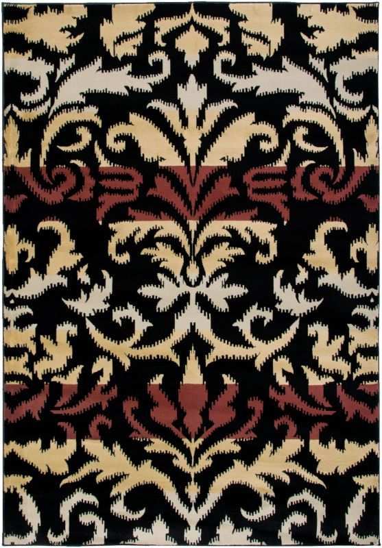 Rizzy Home BS3575 Bayside Power Loomed Polypropylene Rug Beige 6 1/2 x